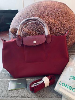 🏇🏿 Le Pliage Neo Small Bag