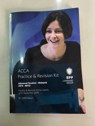 ACCA Practice & Regision Kit Advance Taxation - Malaysia (ATX - MYS)