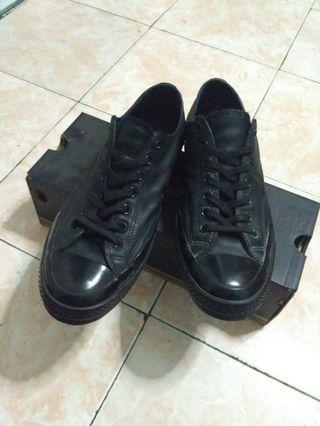 0ad30719726a Converse CT 70 s Mono Black Leather