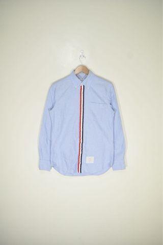 Thom Browne - Classic Grosgrain Placket Oxford Shirt