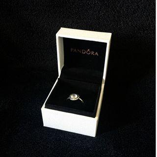 Radiant Pandora Logo Ring