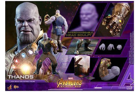 Movie Masterpiece Avengers Infinity War Thanos 1/6 Hot Toys