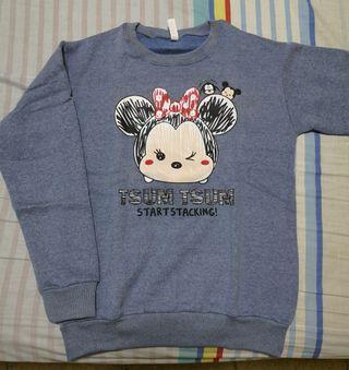 Tsum Tsum minnie mouse blue Pullover