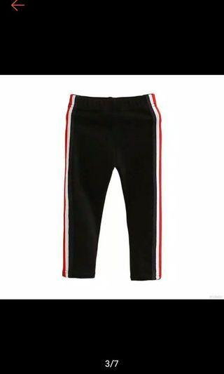 Celana legging panjang sport size 5-6 th