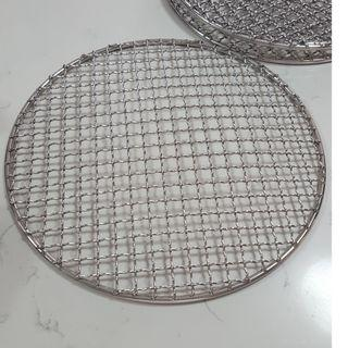 NEW Barbecue Grill Net grid 26cm Popular with Camping oven racks stainless steel BBQ restaurant
