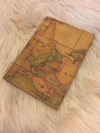 Passport holder unik langka full leather italy