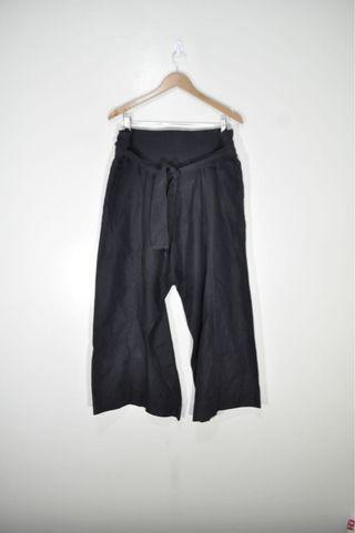 Marni - Wide Leg Pants with Ribbon