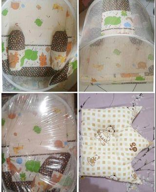 Preloved Chibon Baby Bedding Set