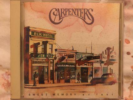 CD:Carpenters《Sweet Memory: at last》