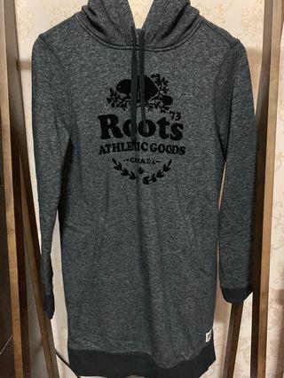 Roots 長版帽T