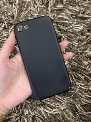 Iphone 7 black soft case