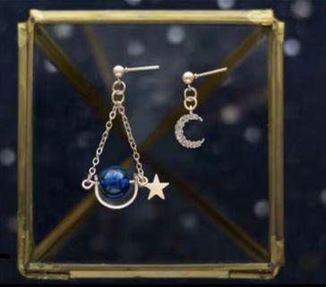 潮氣質星空系列耳環
