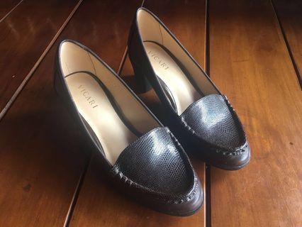 VICARI NEW Sepatu Wanita Coklat Tua Heels Wanita Coklat Tua