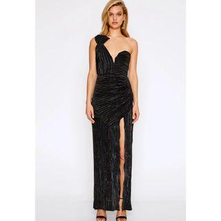 BNWT ALICE MCCALL BLACK WOMAN TO WOMAN DRESS - SIZE 4 AU (RRP $490)