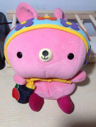Shinada粉紅豆袋小兔兔
