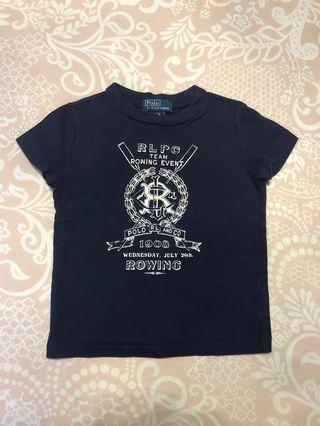 Authentic Polo Ralph Lauren Baby Boy Short Sleeve Graphic T-Shirt