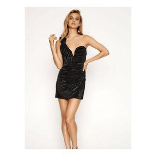 BNWT ALICE MCCALL BLACK LITTLE SOMETHING SOMETHING DRESS - SIZE 6 AU (RRP $420)
