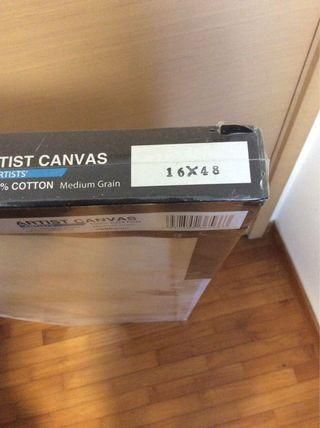 Art Easel and Canvas