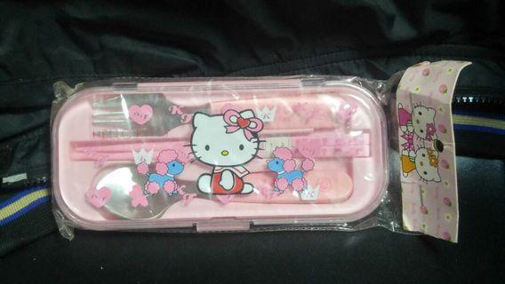 Hello Kitty 餐具套裝