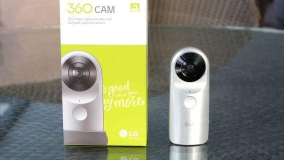 360 CAM LG R105 Action Camera
