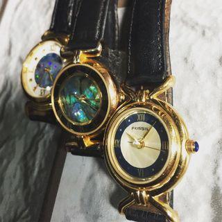 Jam Tangan Wanita Vintage Fossil.