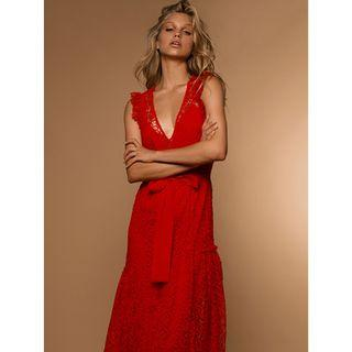 BNWT ALICE MCCALL RED REFLECTION GOWN - SIZE 10 AU (RRP $650)