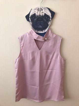 🚚 Pink Sleeveless Top