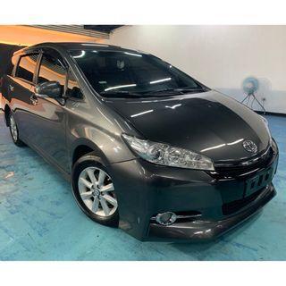 2012年 最新款二代Toyota Wish 2.0E  真心不騙只賣29.8萬