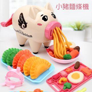 🚚 【GCT玩具嚴選】小豬麵條機 黏土模型玩具