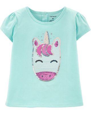 🚚 Unicorn Sequin Tee Shirt