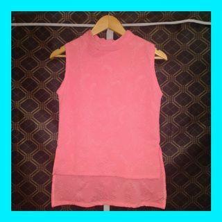 🌻Powder pink turtle neck
