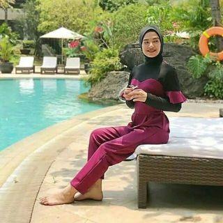 Baju renang muslimah ja mie lavie