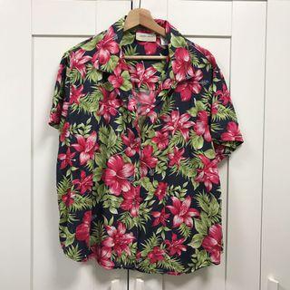 花襯衫 XL