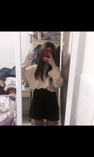 New Miniskirt black size S