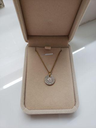Monica Vinader diamond pendant