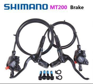SALES : Shimano MT-200 Hydraulic Brake Set (Newer and Longer Version)