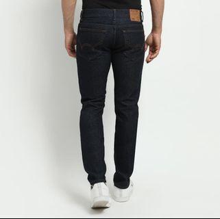 OBRAL Celana Jeans EDWIN BLUE GARMENT TEXAS 06 SIZE 38