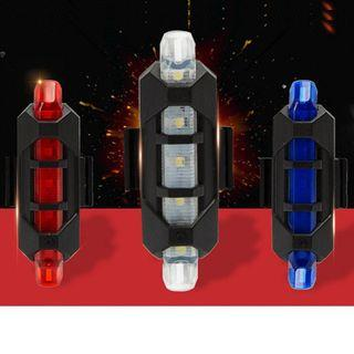 🆕LED Rechargeable Rear Light
