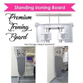 STANDING IRONING BOARD