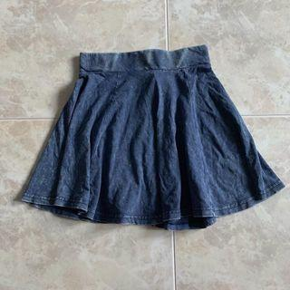 H&M soft denim skirt
