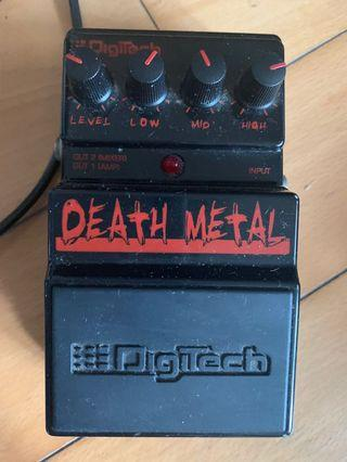 Digitech guitar pedal Death Metal 80%new