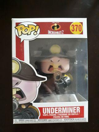 Funko POP Incredibles 2 - Underminer (370)