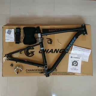 Frameset Change Bike folding bike 700c - - - - - - not montague paratrooper dahon espresso helix