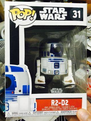 🚚 Funko POP! 星際大戰系列「R2-D2」全新正版