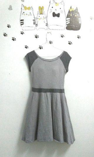 Uniqlo grey padded dress bra dress #APR75