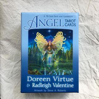 九成新Angel Tarot Card 天使塔羅 Doreen Virtue(英文版)