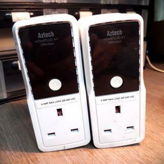 Aztech Homeplug AV 200Mbps #Spareforfix