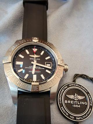 Breitling瑞士百年靈Sea wolf 海狼專業深潛自動手錶