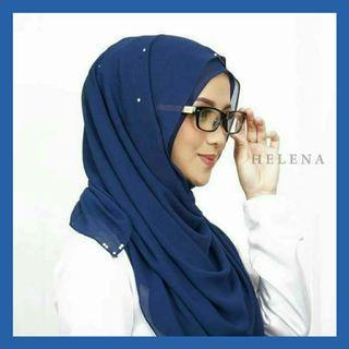 Helena Instant Shawl Hijab Tudung Muslimah