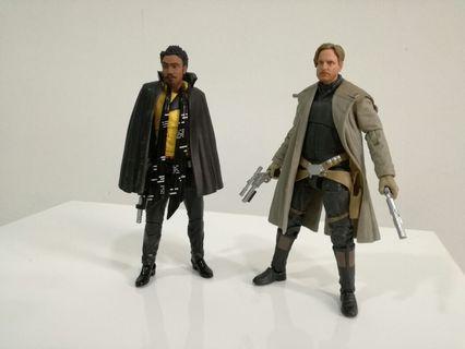Star Wars Black Series Beckett and Lando